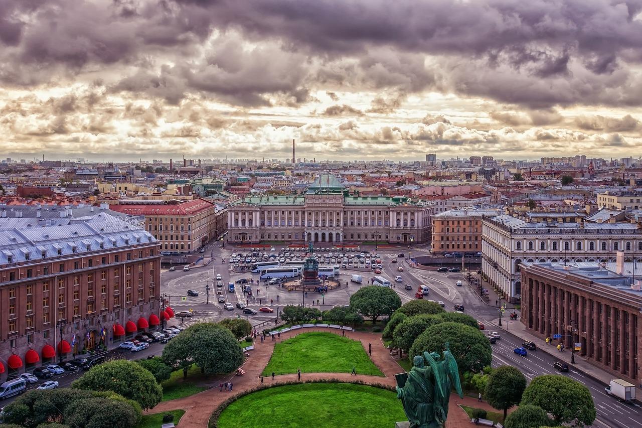 екскурзия до москва и санкт Петербург 2020